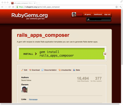 Rails Apps Composer
